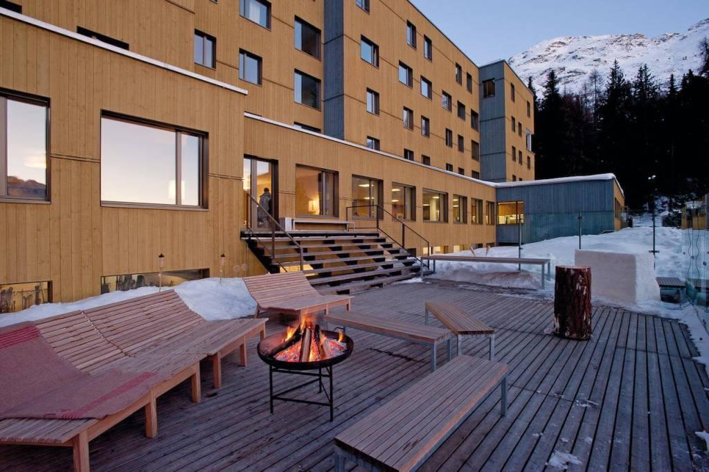 St Moritz Accommodation St Moritz Youth Hostel