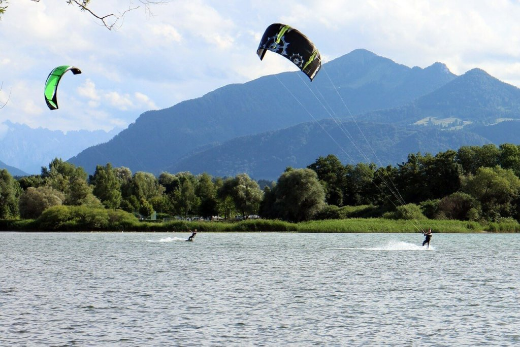 Things to do in St Moritz - Kite Surfing
