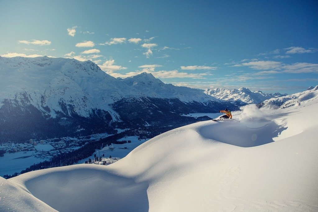 Switzerland Winter Holidays : St.Moritz : Copyright by St. Moritz Tourism : Photo by FilipZuan