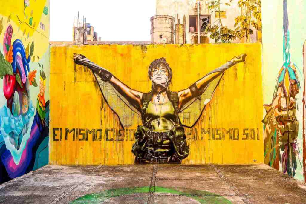 playa del carmen cooking classes - street art