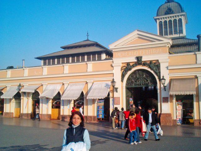 El Mercado Central de Chile
