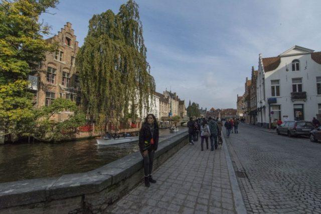 Río Groenerei Brujas Bélgica
