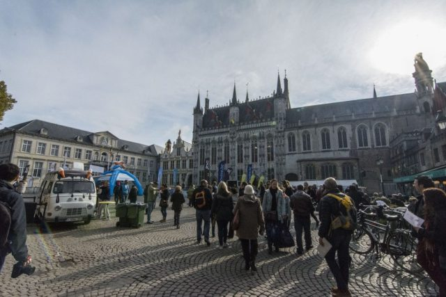 Plaza de Brujas Bélgica