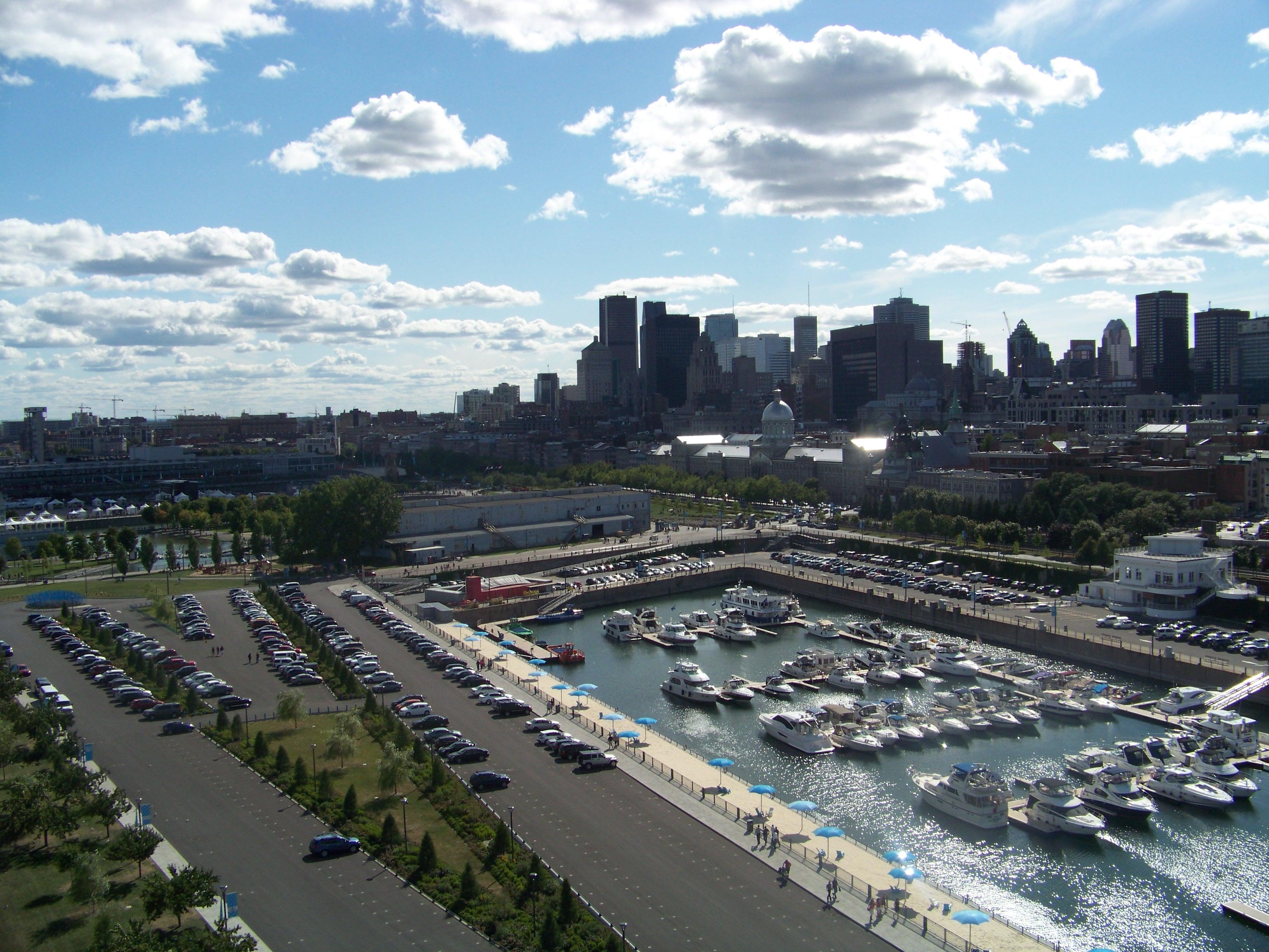 Montreal Viejo Puerto Reloj