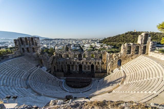 Odeón de Herodes Atticus Acrópolis de Atenas