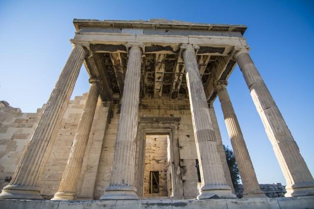 Templo Atenea Acropolis de Atenas