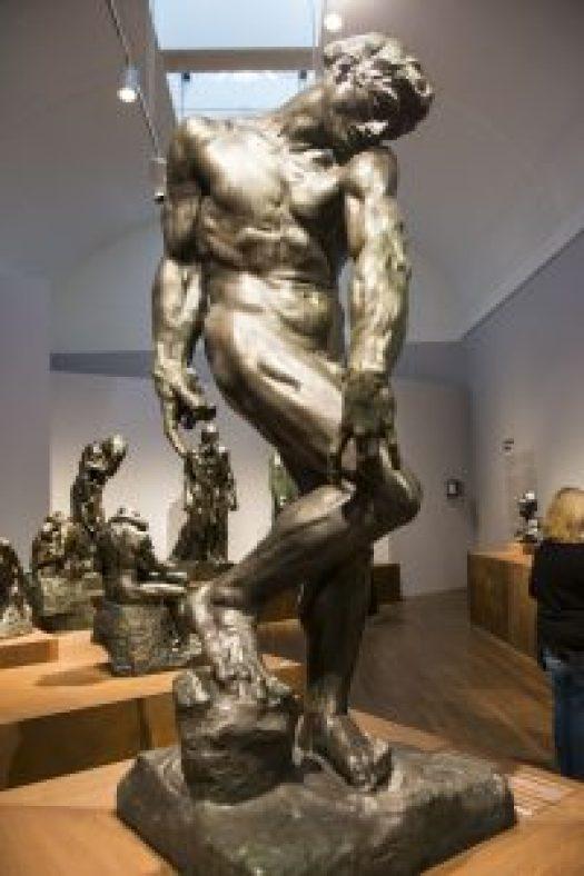 Apolo - Adan escultura Rodin