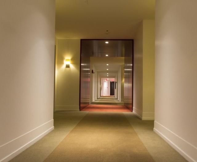 Bonne Entente pasillos