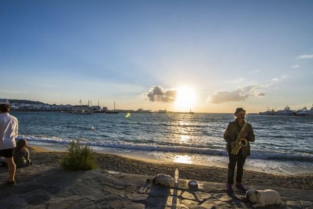 Mykonos melodía griega