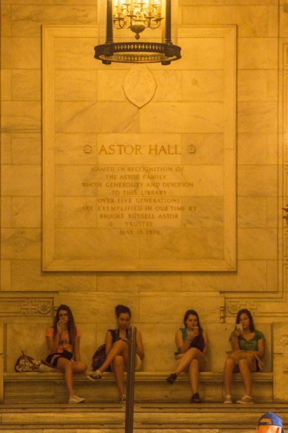 Astor Hall Biblioteca Pública New York