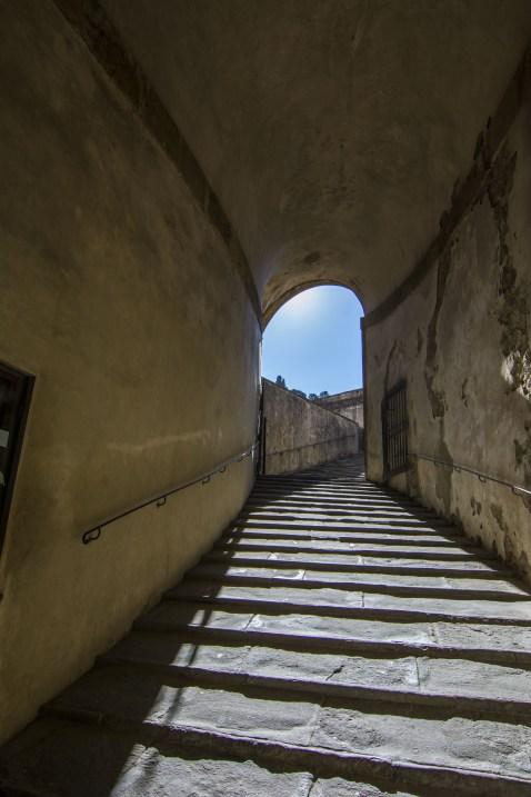 camino a jardines Boboli Pitti
