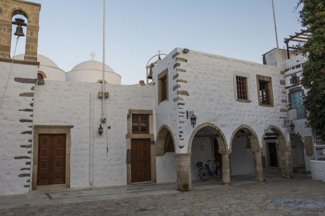 Iglesia de Isla Patmos Grecia