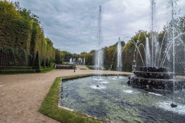 Ingreso a Tres piletas Palacio de Versalles