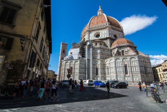 Vista posterior Catedral de Florencia