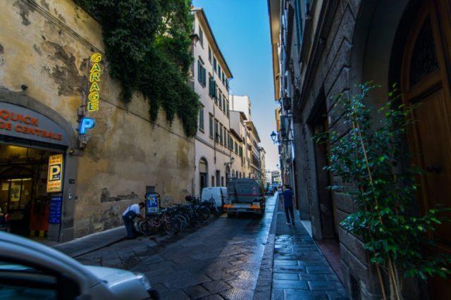 Estacionamiento en Florencia