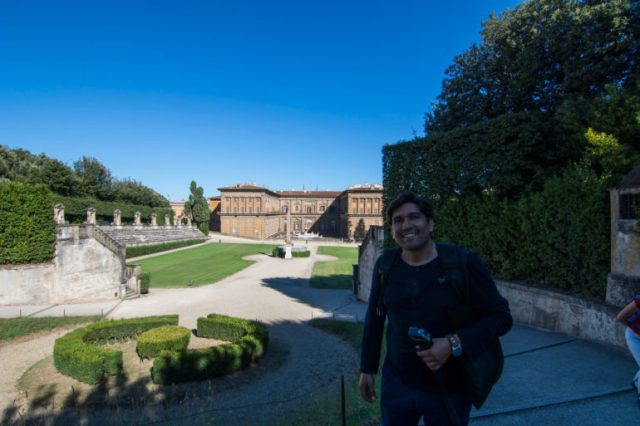 Jardines Boboli de Florencia