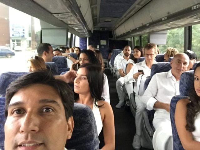 Participantes de nuestro bus