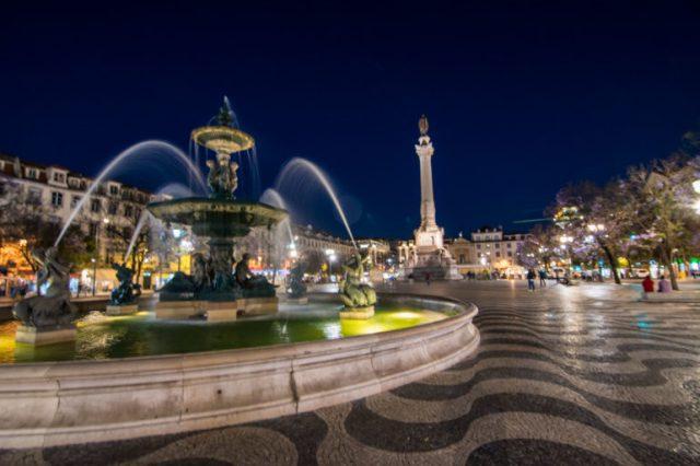 Plazas de Lisboa vida nocturna