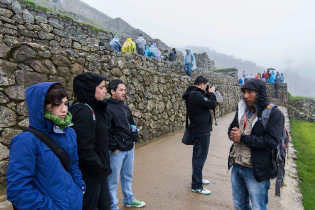 Machu Picchu inicio de la ruta
