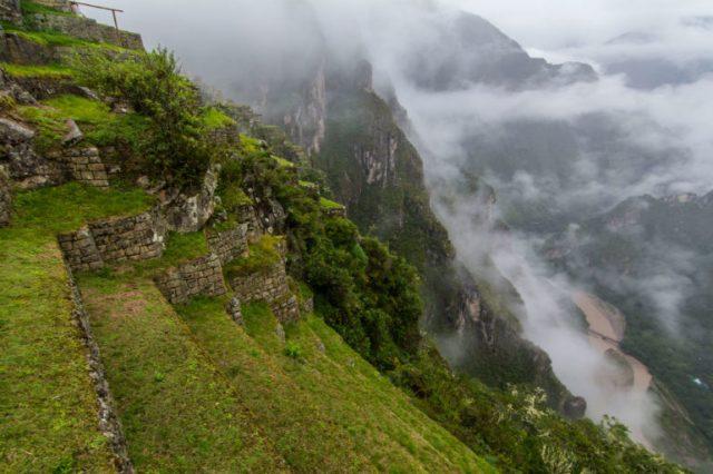 Vista de los apus Machu Picchu
