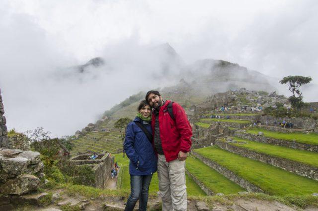 Pati y yo en Machu Picchu