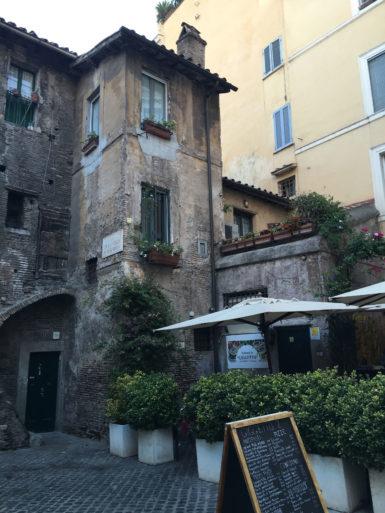 Trattoría en Roma