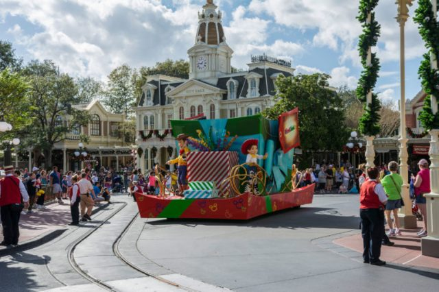 Desfile en Magic Kingdom