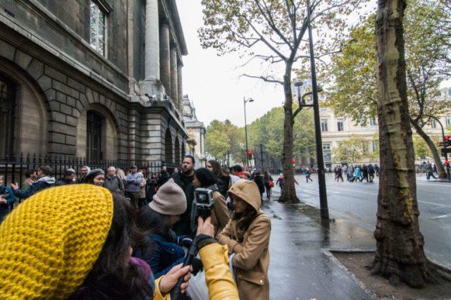 Entrada para la Sainte Chapelle París