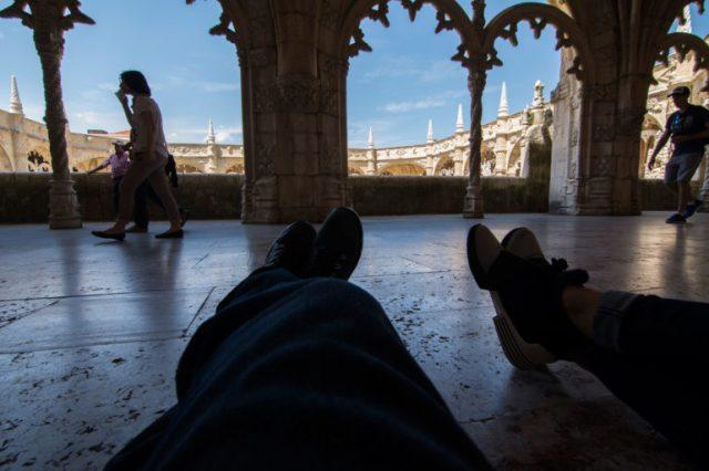 Tiempo de pausa en Monasterio de los Jerónimos