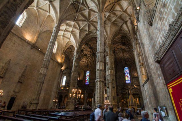Techos góticos Monasterio Jerónimos Lisboa