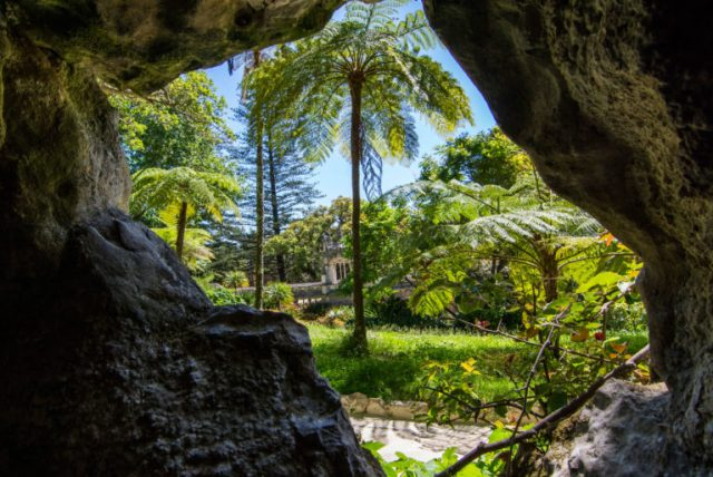 Vista de la Quinta de Regaleira