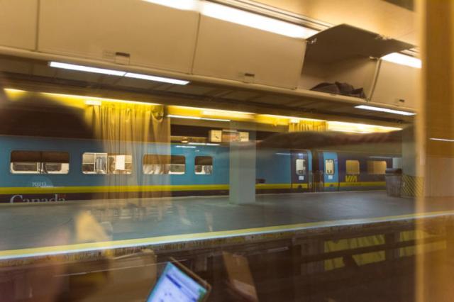 Vagon clase negocios VIA Rail Canada