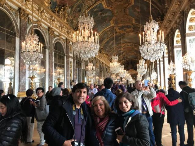 Salon de los espejos Palacio de Versalles