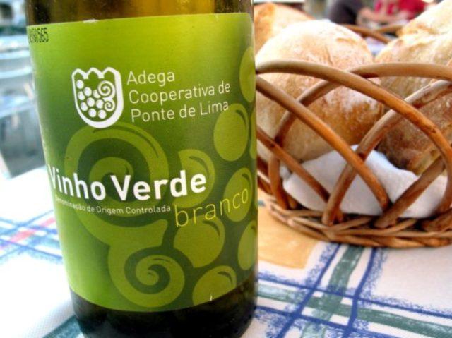 Vino verde Portugal