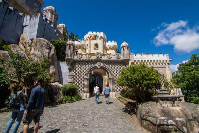 Arco de entrada Palacio da Pena