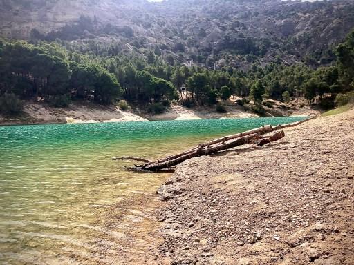 lake in spain, camp ardales scenery