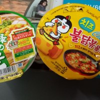 Yum or Not: Korea's Samyang Hot Chicken Flavor with Cheese and  Japan's  Toyo Susan Buckwheat Noodle with Shrimp Tempura