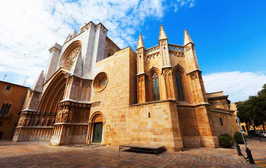 Tarragona Cathedral Costa Dorada Spain What To See And