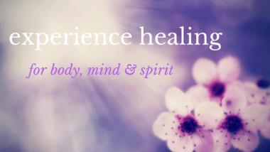 Experience healing