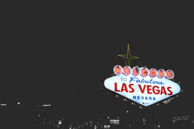 Sign Welcome to Las Vegas where interstate moving companies Las Vegas operate