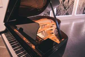 Pianos such as this one can be difficult to move - learn how to do it professionally
