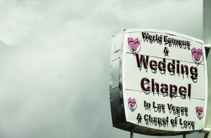 Wedding chapel is also a very Instagrammable places in Vegas.