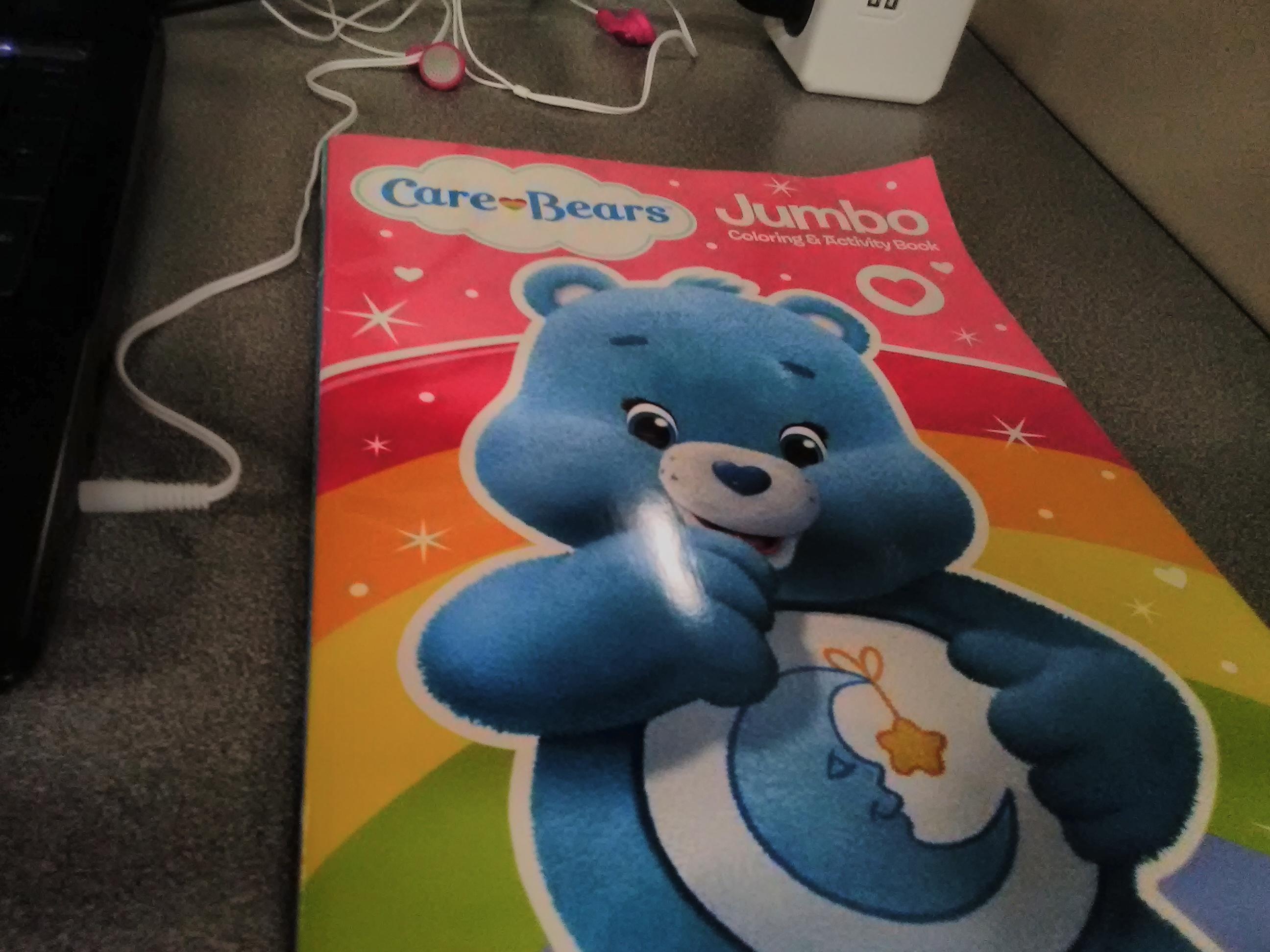 Tripleclicks Care Bears Jumbo Coloring Amp Activity