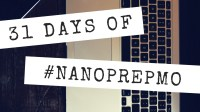 31 Days of NaNoPrepMo