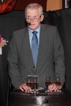 Master Distiller Barry Crockett at the launch of Powers Single Cask Release Whiskey at The Temple Bar ,Dublin Pic:Brian McEvoy No Repro fee for one use