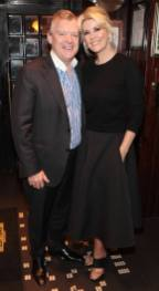 Paul Fitzpatrick and Lisa Fitzpatrick at the launch of Powers Single Cask Release Whiskey at The Temple Bar ,Dublin Pic:Brian McEvoy No Repro fee for one use