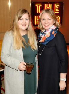 no fee if The River Lee mentioned in caption The River Lee Unveils their Local Taste Toddies on the Terrace Menu Hannah Moran and Paula Cogan at The River Lee's Local Taste Toddies on the Terrace event -photo Kieran Harnett The River Lee Hotel showcase their special Local Taste Toddies on the Terrace menu to be enjoyed during the Christmas and Winter season, which brings together the best local artisan product offerings across food and drink. Visit The River Lee to enjoy Toddies on the Terrace this winter season. For further information, please contact Donna Parsons, Edelman: Email: Donna.Parsons@edelman.com Phone: 01 678 9333| 087 650 1468