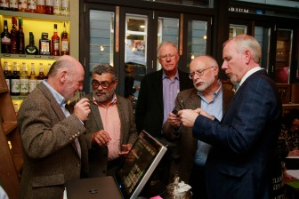 19/10/2017 - Walsh Whiskey Launch at L. Mulligan's Whiskey Shop at the Powerscourt Centre. GV's from the event. Photograph Nick Bradshaw