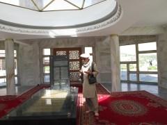 Ahmad Shah Massoud's Tomb - Panjshir Valley, Afghanistan - September 2012