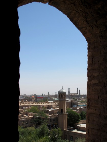 View from the Citadel of Herat